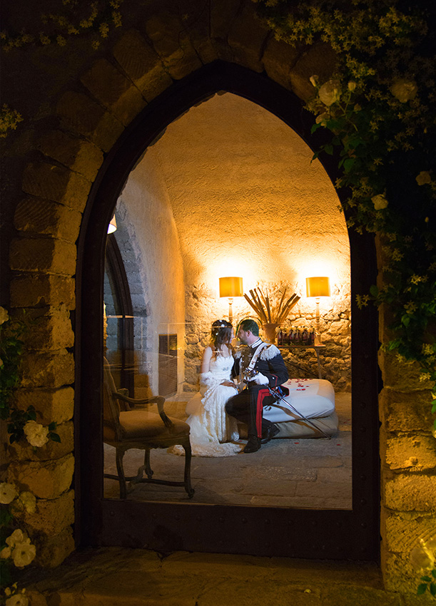 castello xirumi foto matrimonio